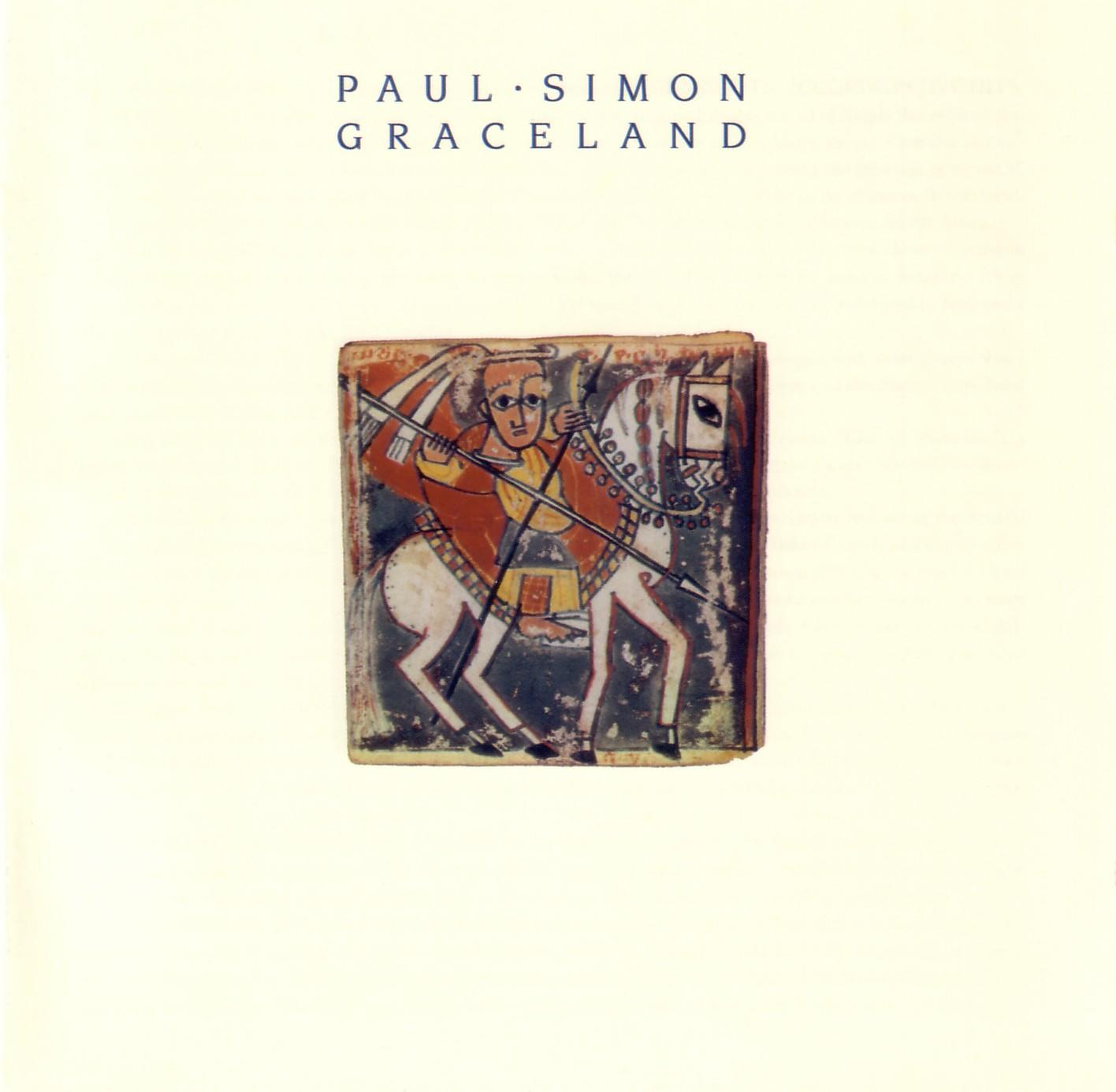 Graceland cover - Paul Simon
